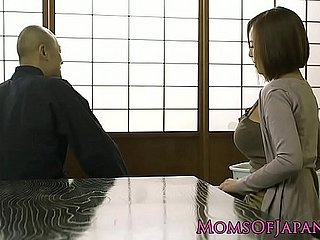 Shove around japanese milf possessions plowed
