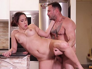 Extra-hot MILF Adara Love gets pounded in be passed on Nautical galley