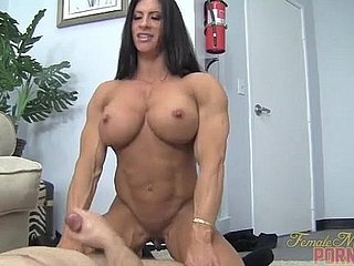 Naked Cooky Bodybuilder Angela Salvagno