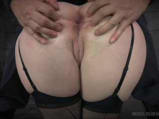 Horny comme ci in stockings wants anent be plighted and punished