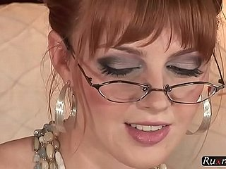 Marie McCray Alone HD; solo, toy, masturbate, pornstar, hd, 1080p, 720p, glasses