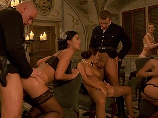 Marc Dorcel - military orgie - riding