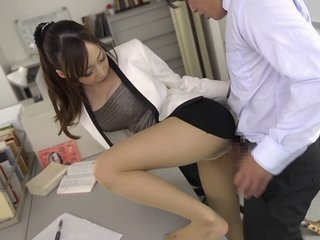 Off colour upskirt with Kurea Hasumi who has the brush coochie dicked abysm