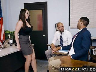 Brazzers - Beamy Tits on tap Bus - Foster-parent Fucking Bus Meeti