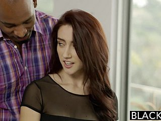BLACKED Sharp practice GF Mandy Star-gaze has anal lovemaking with BBC