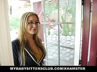 MyBabySittersClub - Hot Babe Sitter Craves Big Cocks