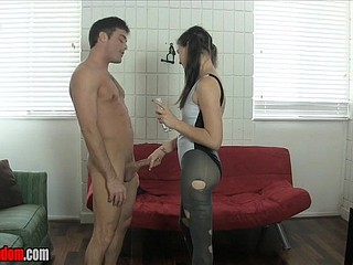 Throb Raillery Ballbusting HJ overwrought Michelle Peters