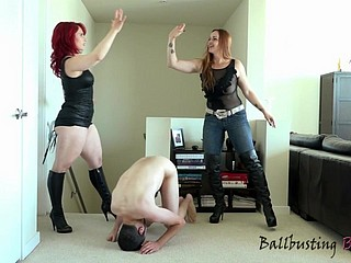 Ballbusting Beauties Compilation 10