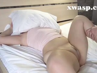 Pocket-sized MILF gets Anal Pain with the addition of Creampie